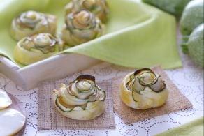 Rotolini di zucchina in sfoglia
