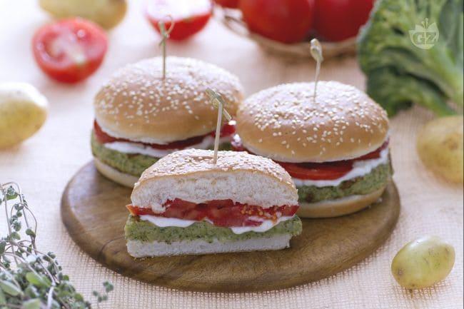 Ricetta burger di broccoli la ricetta di giallozafferano for Decorazioni piatti gourmet