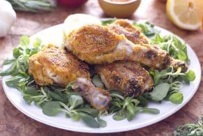 Cosce di pollo croccanti