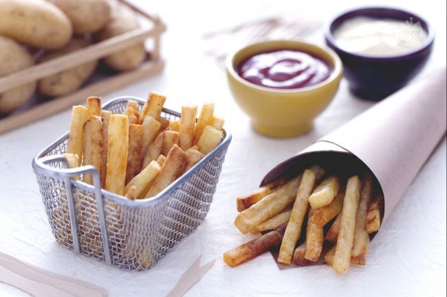 Patatine fritte alla belga
