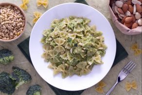 Pasta al pesto di broccoli