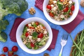 Ricetta Insalata di farro con verdure