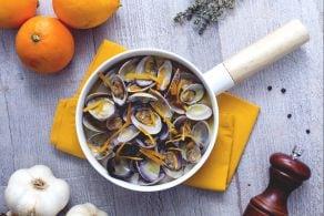 Ricetta Sautè di vongole all'arancia