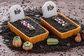 Ricetta Dolci tombe di Halloween