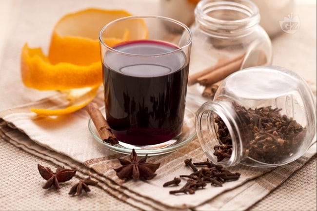 Vin brule' (Mulled wine)