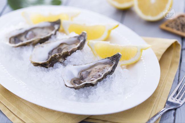 Ostriche limone e pepe