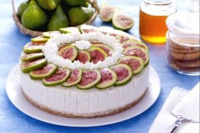 Cheesecake allo yogurt, fichi e miele