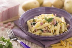 Ricetta Pasta patate e prosciutto