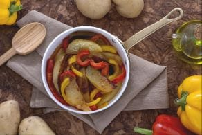 Ricetta Patate e peperoni