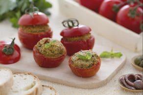 Ricetta Pomodori  gratinati alla pugliese
