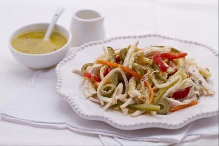 Insalata di pollo saporita