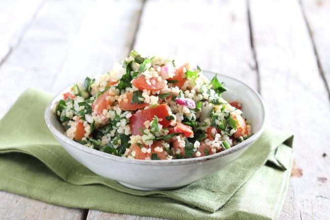 Ricetta tabuleh con verdure la ricetta di giallozafferano for Cucina libanese