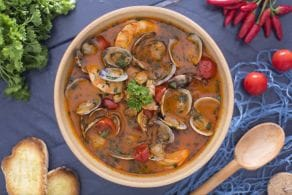 Ricetta Zuppa di vongole