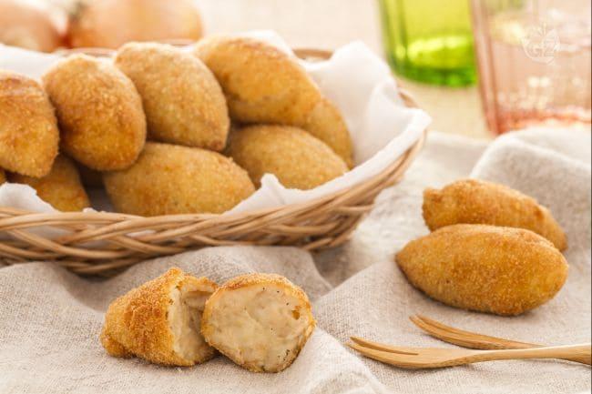 ricetta croquetas crocchette la ricetta di giallozafferano