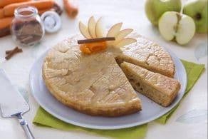 Ricetta Torta di mele e carote