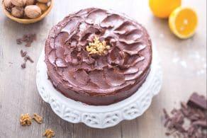 Ricetta Torta di cioccolato e noci