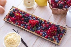 Ricetta Crostata ai frutti di bosco