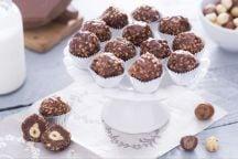 Praline di cioccolato e nocciole