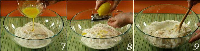 Treccia di pasta lievitata