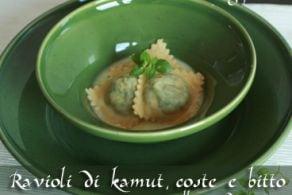 Ricetta Ravioli di Kamut® coste e bitto