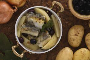 Ricetta Baccalà con patate e olive