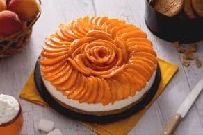 Ricetta Torta fredda alle albicocche