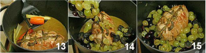 Arrosto di vitello all'uva Arrostouva_sequenza5