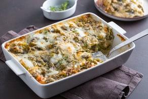 Lasagne di carciofi ai formaggi