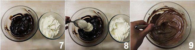 Coppa al mascarpone con cioccolato e meringhe