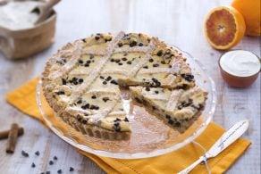 Ricetta Crostata con mascarpone e gocce di cioccolato