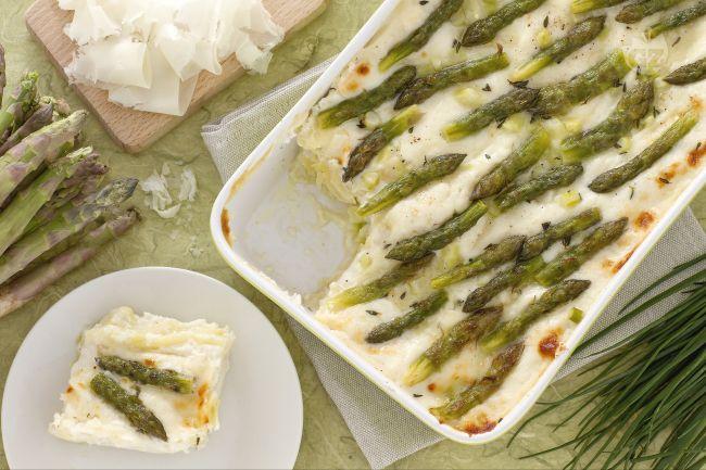 Lasagne asparagi e raspadura