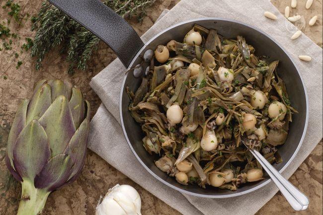 Ricetta seppioline con carciofi la ricetta di for Ricette con carciofi