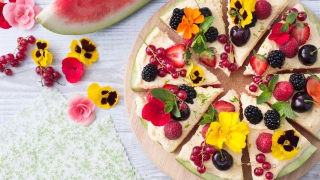 Pizza di anguria