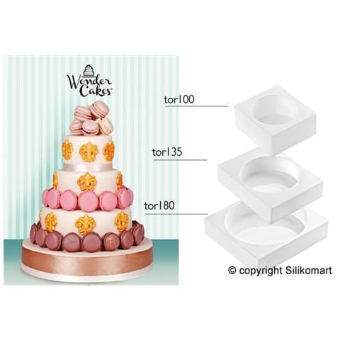 Kit per stampi torta a più piani