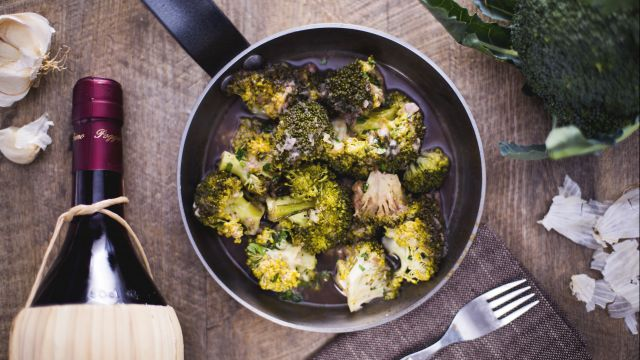 Broccoli affogati