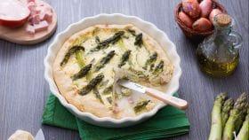 Ricetta Quiche agli asparagi e mortadella