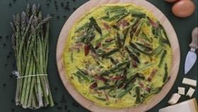 Ricetta Frittata con asparagi selvatici e speck