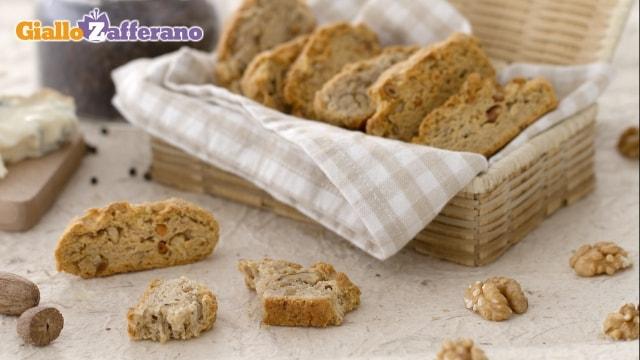 Ricetta Cantucci al gorgonzola