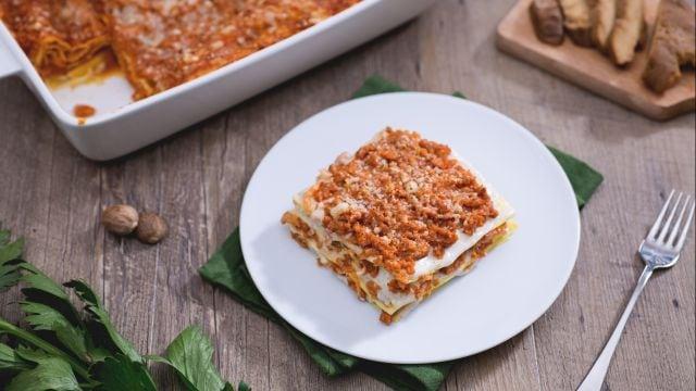 Go veg, go lasagne!