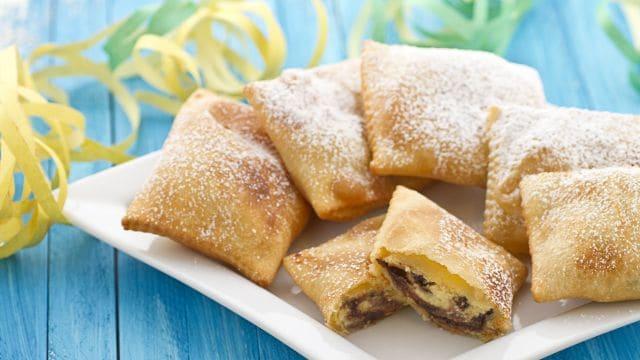 Ricetta Ravioli alla ricotta e gocce di cioccolato