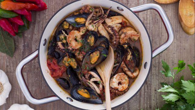 Zuppa di cozze alla napoletana