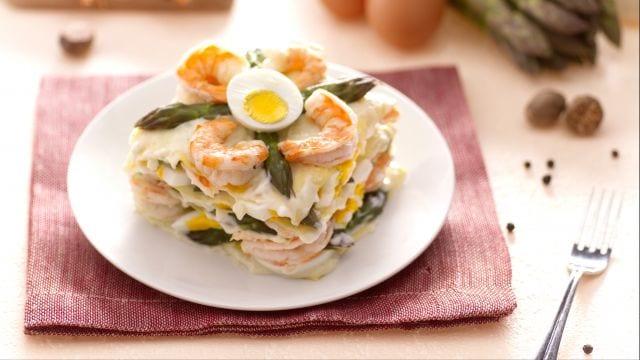 Lasagne con asparagi