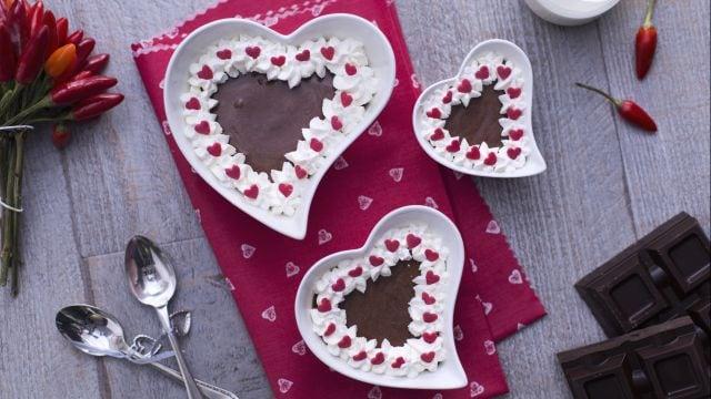 Mousse di cioccolato e peperoncino