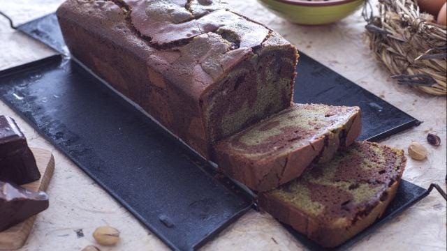 Plumcake al pistacchio e cioccolato