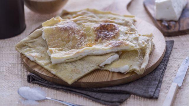 Focaccia col formaggio (di Recco)