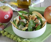 Insalata di spinaci e mele