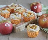 Muffin integrali con mele e marmellata