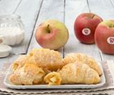 Cornetti di sfoglia alle mele