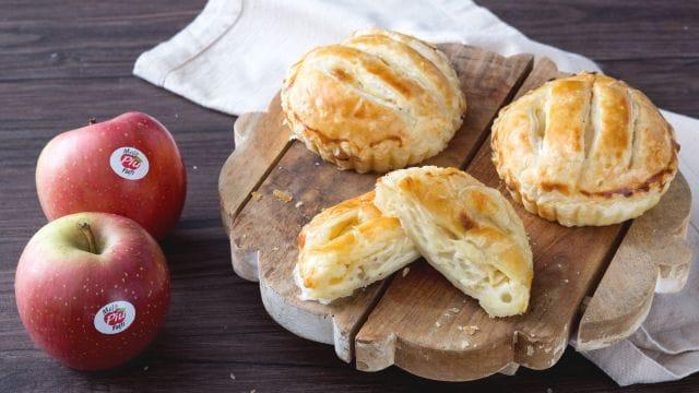 Mini pie salate di formaggio e mele
