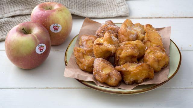 Frittelline di mele e ricotta